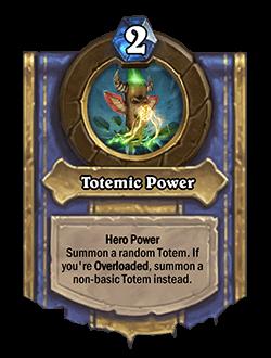 Totemic Power
