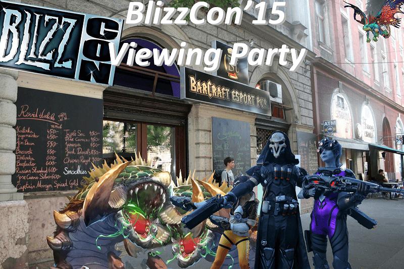 BlizzCon Viewing Party élménybeszámoló