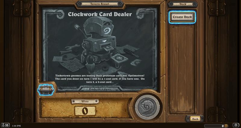 clockwork card dealer