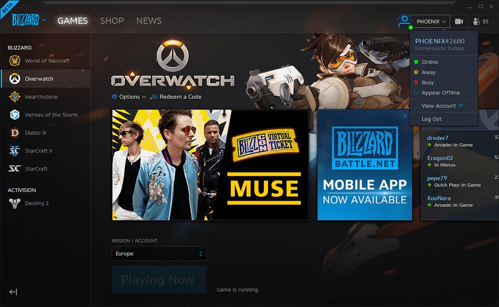 Offline megjelenés, csapatok és profilok a Blizzard Battle.Net Launcher bétájában