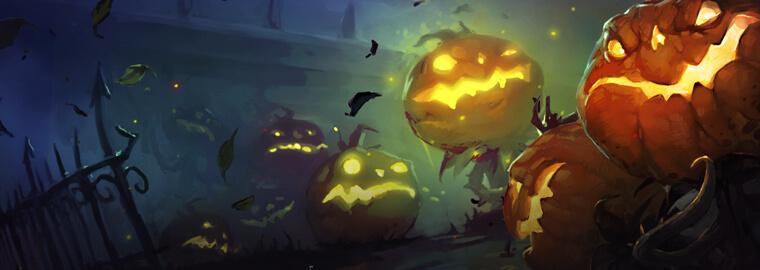 Halloween esemény - jutalmak, duál kaszt Aréna és egyebek
