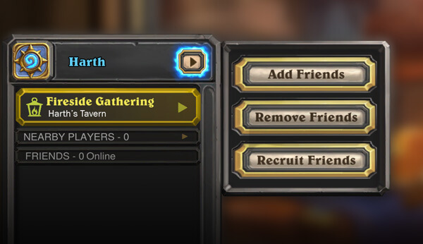 Fireside Gatherings Hearthstone Friends