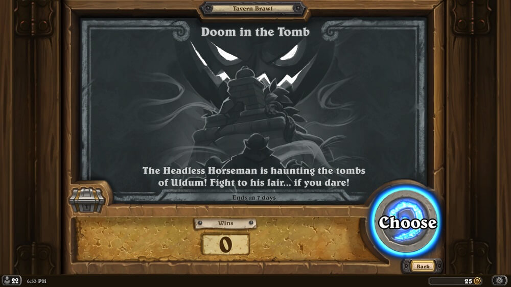 Doom in the Tomb