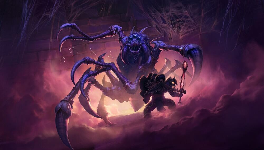Naxxramas spider, Maexxna