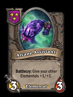 Arcane Assistant