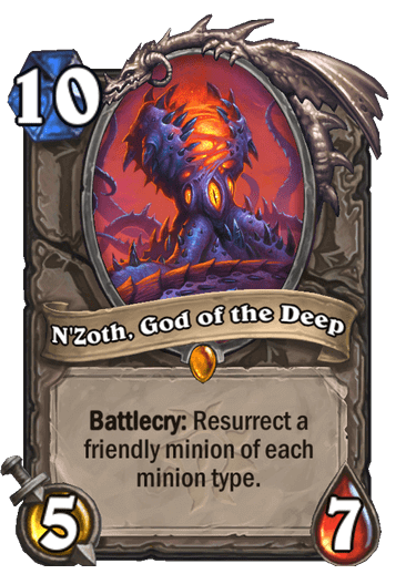 Nzoth, God of the Deep