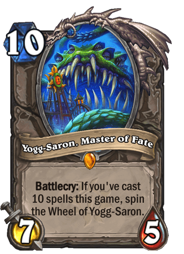 Yogg-Saron, Master of Fate