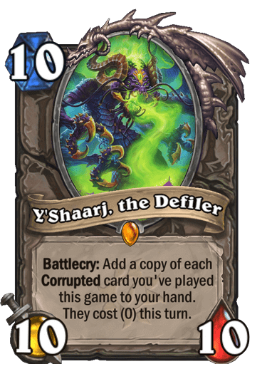 Yshaarj, the Defiler