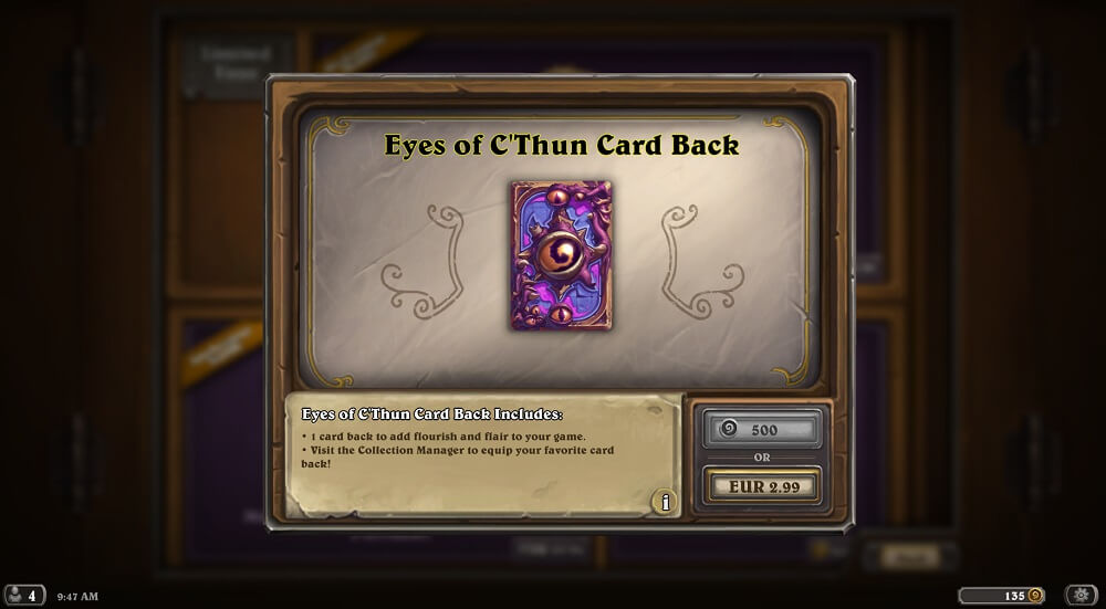 Eyes of Cthun hátlap