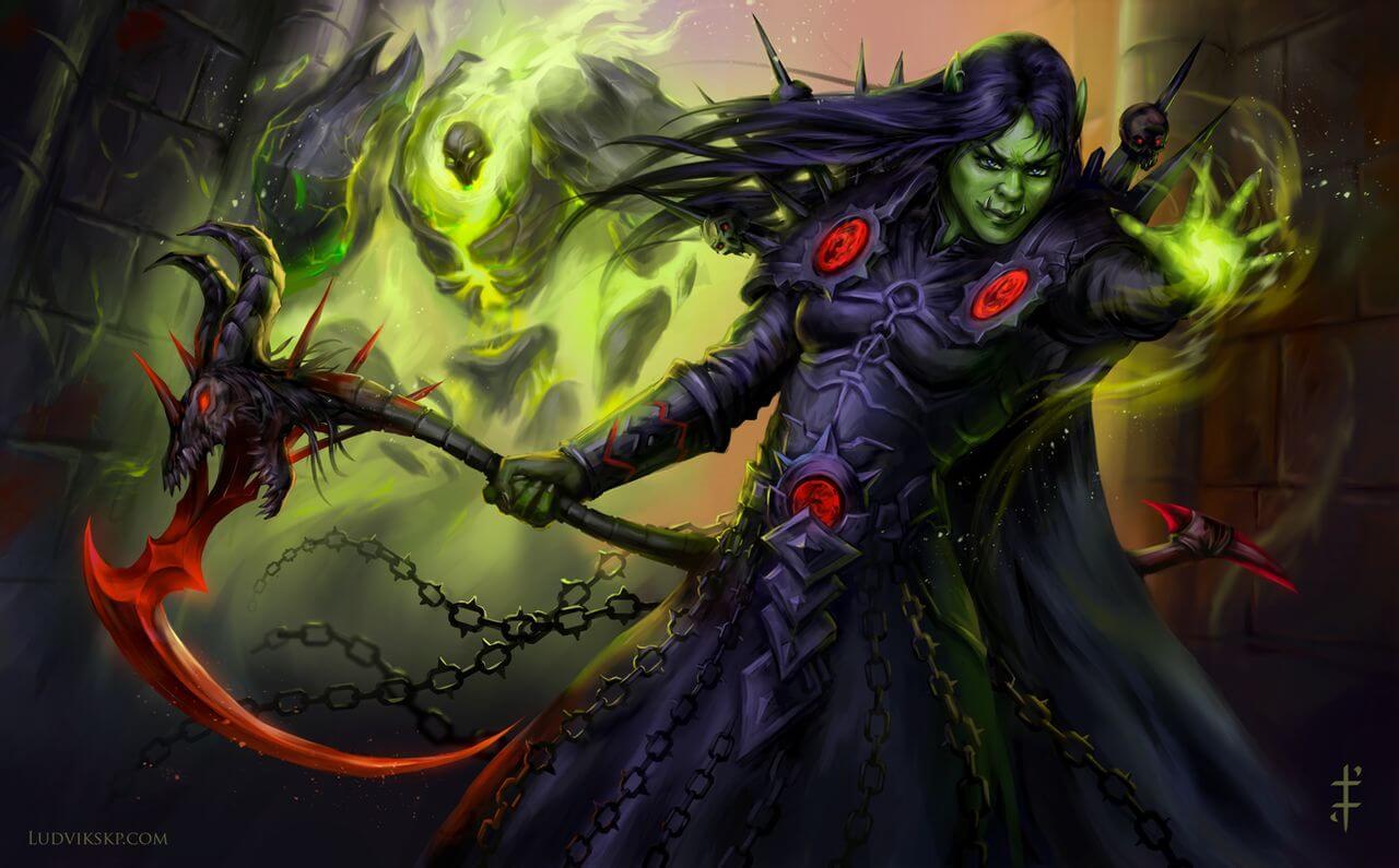 warlock artwork ludvikskp