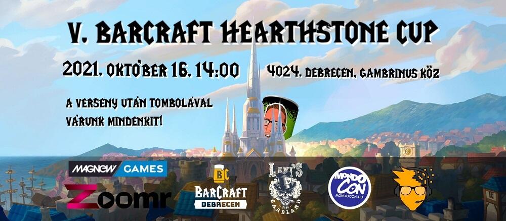 V. Hearthstone Cup Debrecen Barcraft