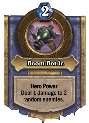 boom bot junior hero power