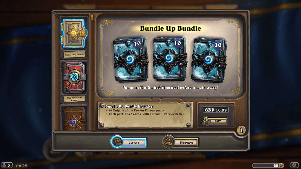 Days of the Frozen Throne Bundle Up Bundle