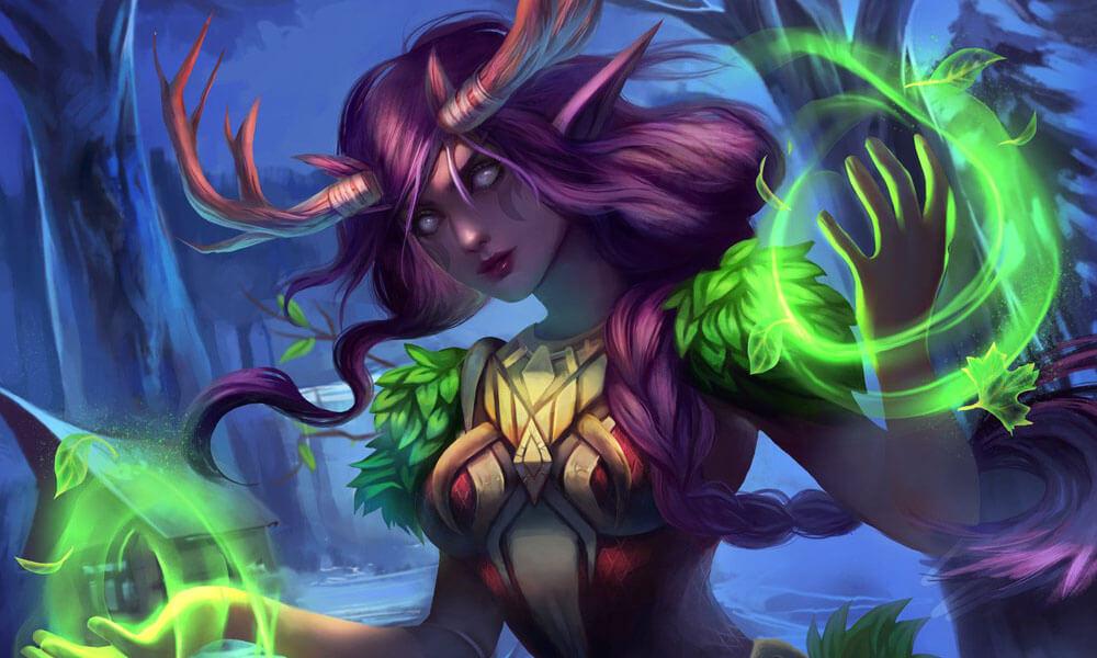 druid artwork Warcraft Hearthstone