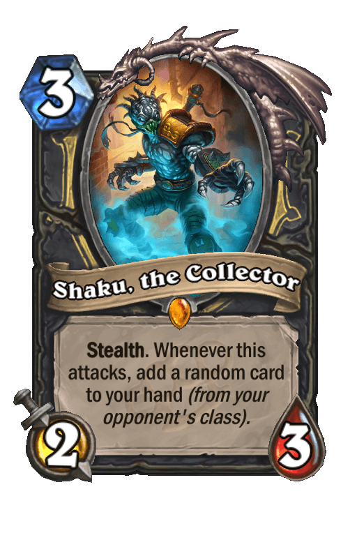 Shaku, the Collector
