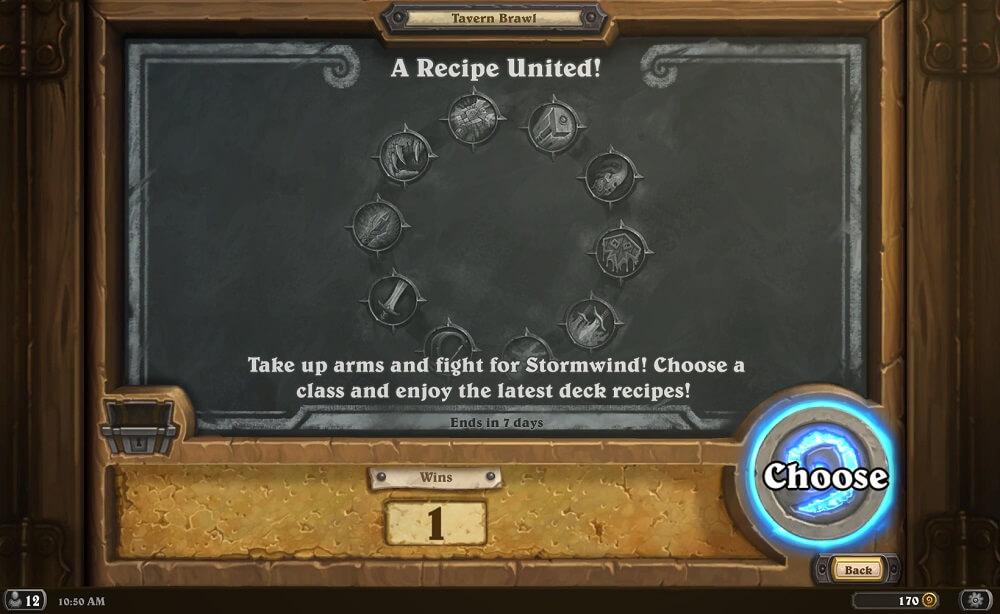 A Recipe United Tavern Brawl