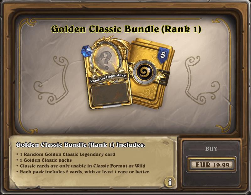Golden Classic csomag