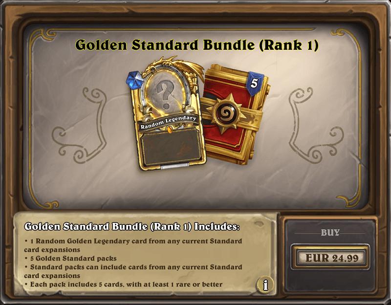 Golden Standard csomag