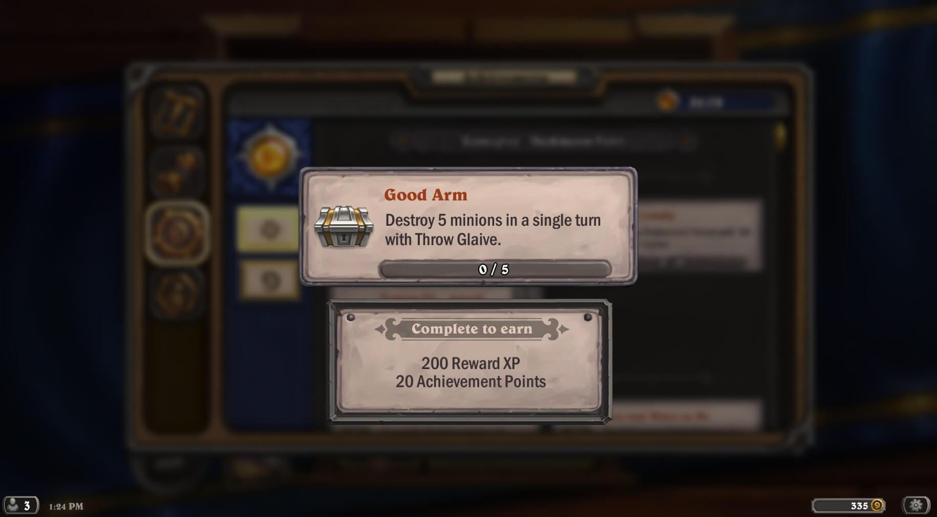 XP-t adó achievement