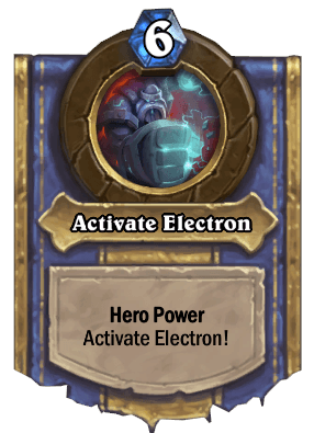 activate electron hero power