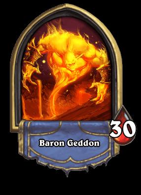 Baron Geddon ellenség