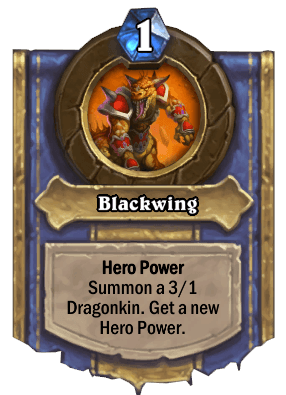 blackwing hero power