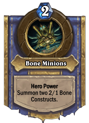 bone minions hero power