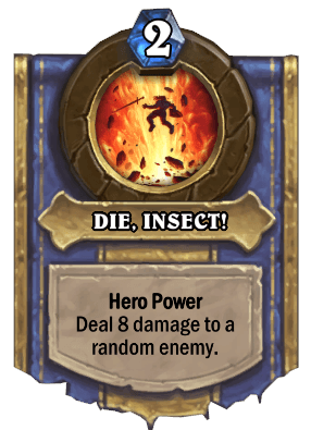 die insect hero power
