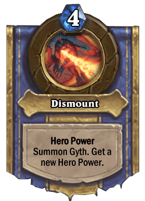dismount hero power
