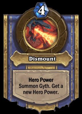 dismount hero power