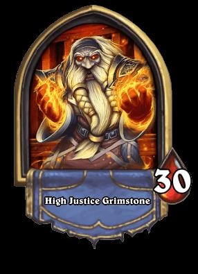 High Justice Grimstone ellenség