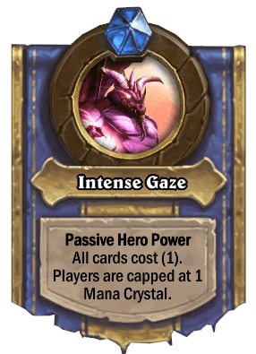 intense gaze hero power