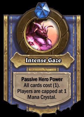 intense gaze hero power