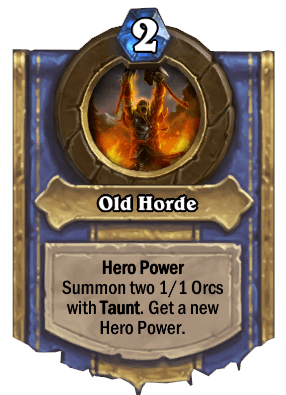 old horde hero power