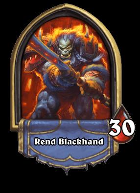 Rend Blackhand ellenség