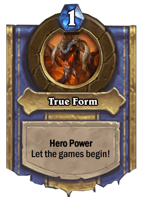 true form hero power