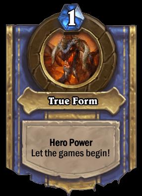 true form hero power