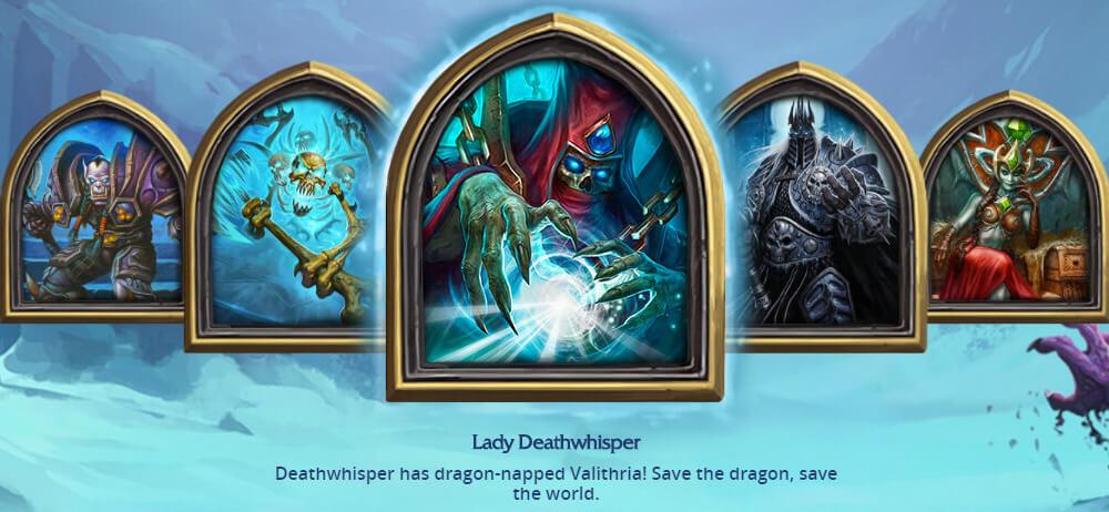 Lady Deathwhisper ellenség