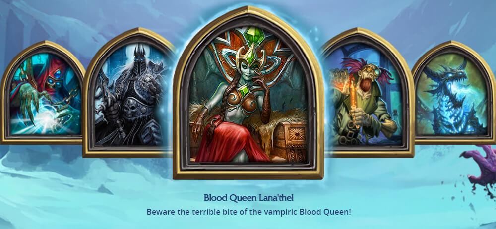 Blood Queen Lana'thel ellenség