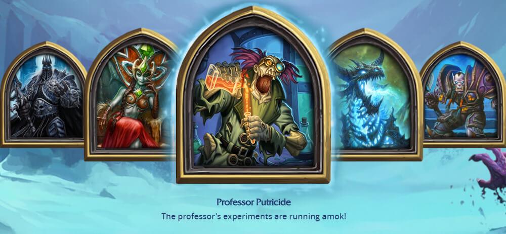 Professor Putricide ellenség
