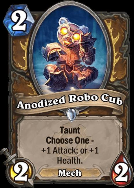 anodized robo cup hearthstone kártya goblins vs gnomes
