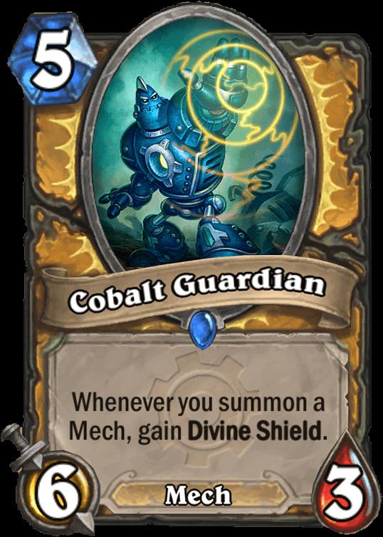 cobalt guardian hearthstone kártya goblins vs gnomes