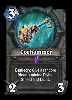 coghammer hearthstone kártya goblins vs gnomes