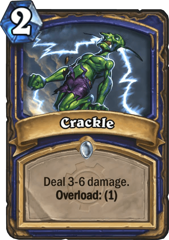crackle hearthstone kártya goblins vs gnomes