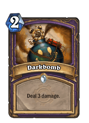 darkbomb goblins vs gnomes hearthstone kártya