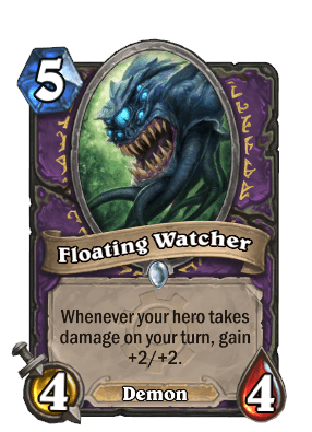 floating watcher goblins vs gnomes hearthstone kártya