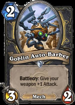 goblin auto barber hearthstone kártya goblins vs gnomes