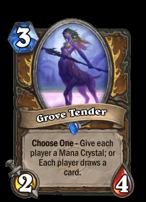 grove tender goblins vs gnomes hearthstone kártya