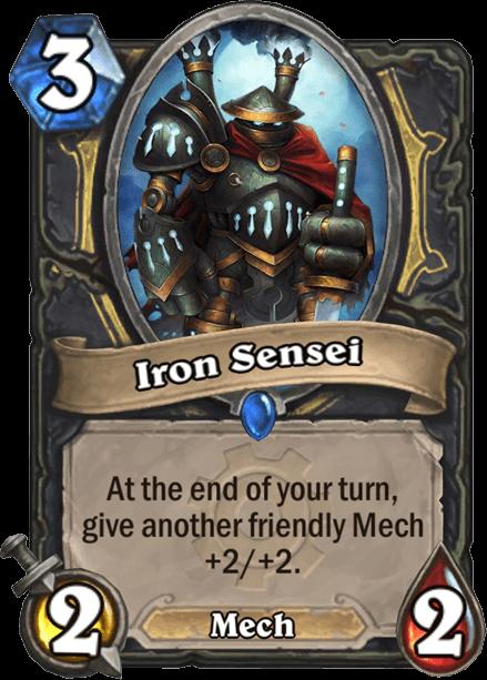 iron sensei hearthstone kártya goblins vs gnomes