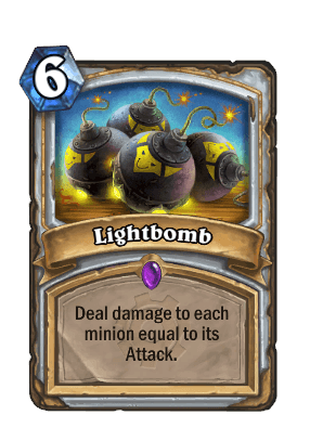lightbomb goblins vs gnomes hearthstone kártya